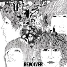 Klaus Voormann's artwork for Revolver (1966) by The Beatles, Parlophone
