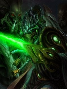 Zeratul,the Dark Templar by DottorFile on DeviantArt