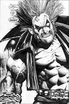 Lobo #1 Page 14 Splash//Simon Bisley/B/ Comic Art Community GALLERY OF COMIC ART