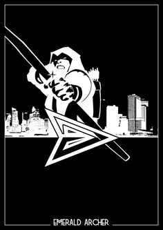 Super Heroes DC Comics Silhouette by Romain Therasse, via Behance