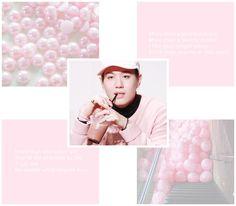 Moodboard got7 kpop pink pastel