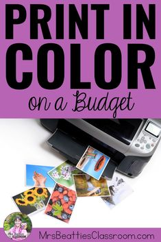 Going through colored printer ink like water? Never worry about printing in color again! Here's the secret to how to print in color on a budget. Head over now to grab a free month! Teaching Jobs, Teaching Strategies, Teaching Resources, Classroom Resources, Classroom Ideas, Teacher Organization, Teacher Hacks, Best Teacher, Organizing
