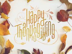 Happy Thanksgiving, everyone! Enjoy the long weekend :)