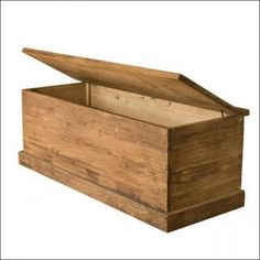 Another project. Get an old blanket box and do it up and use it to store all my jumpers.