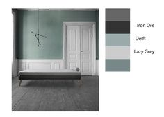 Sherwin Williams Delft and coordinating colors