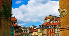 Market Square in Old Town Warsaw, Poland  www.bing.com