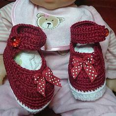 Chaussure bébé fille 100% coton au crochet Taille 3 mois de la boutique leloquencedelisa sur Etsy Baby Shoes, Boutique, Etsy, Crochet, Kids, Fashion, 3 Months, Unique Jewelry, Cotton