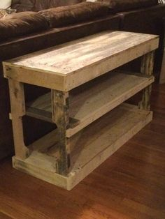 Reclaimed TV Console Entertainment Center by KnottyPrimitives