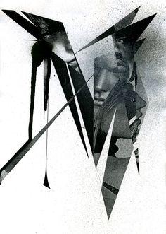 "collage ""smashed N"""