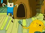 Finn y Jake Bailando - Hora de Aventuras!!!