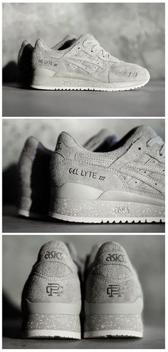 30610174d3970 Reigning Champ x Asics Gel Lyte III  Grey Basket Sneakers