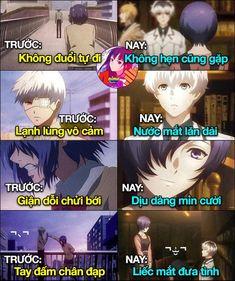 Ss nào anh Ken cũng đẹp hết chơn mà ss 1 2 Ken nhìn men hơn :3 Touka Kaneki, Ken Tokyo Ghoul, Comedy Anime, Anime Life, English Language, Funny Photos, Manga Anime, Otaku, Cool Pictures