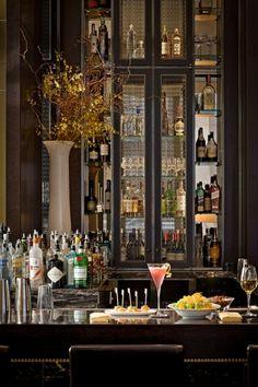 GF: Another bar back image. Can go in either bar area. The Setai Fifth Avenue in NYC Cafe Bar, Billard Bar, Bandeja Bar, Restaurant Design, Cafe Restaurant, Persian Restaurant, Luxury Restaurant, Design Hotel, Dream Bars
