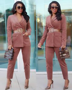 59 Best Women In Suits images in 2019   Feminine fashion, Womens ... a4bbf5072d