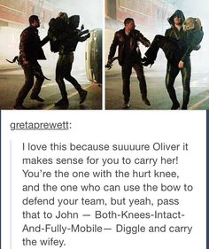 That's what I thought while I was watching the ep. Oliver was acting emotionally and not rationally.