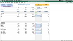 Simple Mac Excel Budget Spreadsheet – Budget Software for Mac Computers – Vorlage Excel Budget Template, Event Planning Template, Budget Spreadsheet, Schedule Templates, Mac Mini, Mac Pro, Budgeting Finances, Budgeting Tips, Macbook Air
