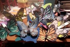 Dee Seitz‎'s soda can butterflies