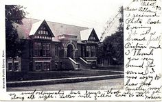 1905 Carnegie Public Library, Norwalk, Connecticut