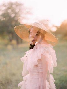 Garden bridal with a delightfully whimsical pink dress | Austin Bridal Inspiration Blush Pink Weddings, Romantic Weddings, Elegant Wedding, Blush Wedding Stationery, Pink Wedding Invitations, Wedding Styles, Wedding Ideas, Bridal Shoot, Pink Dress