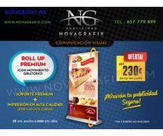 Roll up premium pórtatil publicitario