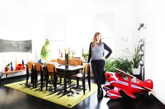HOUSE TOUR: Nicole Miller's Sunny And Spacious Tribeca Loft