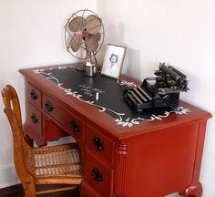 Relooker un meuble ancien avec de la peinture - idées et photos!