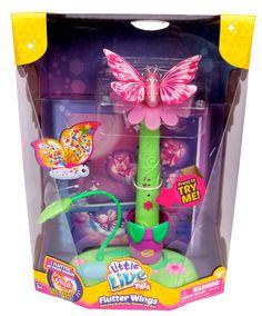 Amazon Com Little Live Pets Flutter Wings Dancing Butterfly Flower Garden Toys Games Little Live Pets Gifts For Kids Butterfly Gifts
