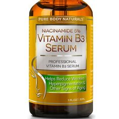 Niacinamide Vitamin B3 Cream Serum 5% - 1 Oz - Visibly Tightens Pores, Reduces Wrinkles, Boosts Collagen, an Superior Moisturizing to Promote Visibly Younger Skin