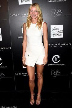 Long legged Gwyneth Paltrow