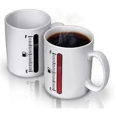 Tea cup Control heat