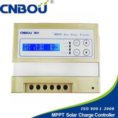 CNBOU 20A MPPT solar charge controller