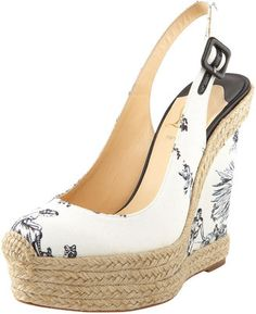 ShopStyle: Christian Louboutin Everesta Toile Espadrille