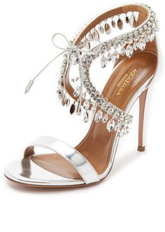 615eb12d6ad7a Aquazzura Milla Jewel Sandals - I sell these Kate!