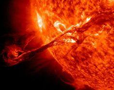 Solar Storm in September 2013