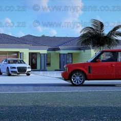 6 Bedroom House Plans – My Building Plans South Africa Home Design Plans, Plan Design, Architect Fees, 6 Bedroom House Plans, Single Storey House Plans, Village House Design, Floor Layout, Open Plan Living, Building Plans