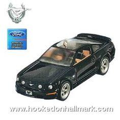 2009 Hallmark Ornament - Ford Mustang GT - Hallmark Keepsake Christmas Ornaments