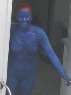 New Photos of Jennifer Lawrence as Mystique in X-MEN: DAYS OF FUTURE PAST - News - GeekTyrant
