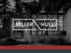 Miller Hull Architects Identity by Adam Carney