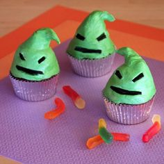 Popping up from his underground cupcake lair, this bug-eating Halloween Town villain tastes way sweeter than he looks -- particularly when served with a few candy worms on the side.
