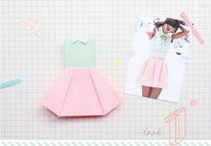 Ice Cream: Origami Workshop hdn's Closet!  http://heladodenata.blogspot.jp/2012/06/taller-de-origami-hdns-closet.html?showComment=1342330517586#
