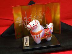 Brand New Japanese Ornament of Chinese Zodiac Horse O1501 | eBay