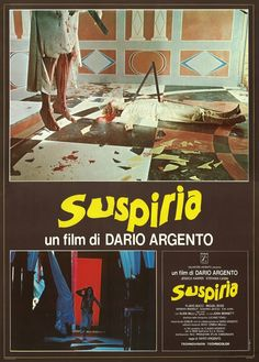 Suspiria - Directed by: Dario Argento - Country: USA - Release date: 1977