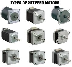 types of stepper motors
