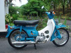 [CUB in KASKUS] Serba-serbi honda cub series - Kaskus - The Largest Indonesian Community Small Motorcycles, Old Celebrities, Honda Cub, Honda Bikes, Mini Bike, Custom Bikes, Cool Bikes, Bobber, Cubs