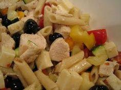 chicken pasta salad for a crowd