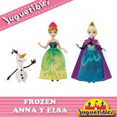 anna y elsa Frozen princesas juguetes
