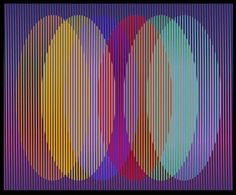 Carlos Cruz Diez, 1923 Spirited Art, Kinetic Art, Illusion Art, Illustrations And Posters, Traditional Art, Les Oeuvres, Pop Art, Contemporary Art, Artwork