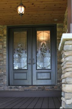Contact us today to discuss a bath or shower remodel, new home windows and exteriors doors, and more. Bright Front Doors, Brown Front Doors, Wood Front Doors, Glass Front Door, Front Door Decor, Glass Door, Front Entry, Front Door Makeover, Door Images