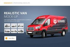 Van Mock-Up 2 by WebAndCat on @creativemarket