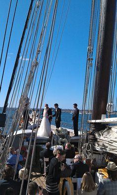 Sailing #weddings in San Diego